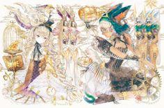 夜汽車 | YOGISYA Japanese Illustration, Illustrators, Mystic, Digital Art, Princess Zelda, Manga, Pictures, Painting, Art Art