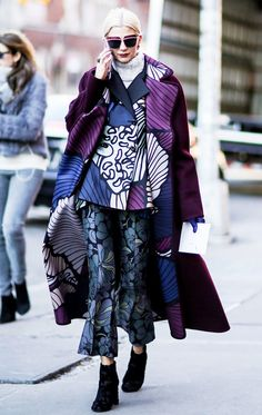 13 Style Tricks to Steal From the Streets of NYFW via @WhoWhatWear
