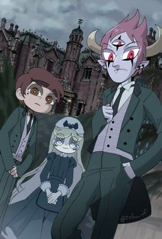 Those are fuckin haunted mansion cast member outfits I'm choking <<< Is looks pretty cool. Starco Comic, Anime Triste, Bad Friends, Dark Star, Star Wars, Fanart, Star Butterfly, Cartoon Shows, Star Vs The Forces Of Evil