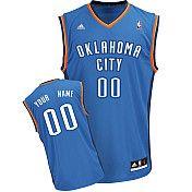 Adidas Oklahoma City Thunder Revolution 30 Custom Replica Road Jersey  from $74.99