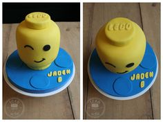 A lego head for Jaden's 8th birthday :)