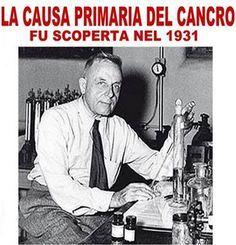La causa principale del cancro fu scoperta nel 1931,ma mai nessuno vi ha detto nulla per scopo di lucro.La chemio terapia NON SERVE A NULLA!Ecco il perchè