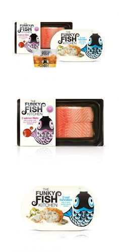 The Funky Fish Kitchen — The Dieline | Packaging & Branding Design & Innovation News