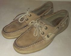 91ca621465f1 Sperry Top-Siders Women s Size 7 Shoes Loafers Brown Leather 9767757  Bluefish