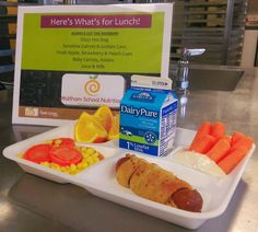 WPS School Nutrition @WPSnutritionk12 Have you seen our Dizzy Dogs? #WholeGrain garlic bread wrapped around a hot dog and baked fresh @SchoolMealsRock