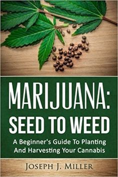 Marijuana:Seed To Weed: A Beginner's Guide To Planting And Harvesting Your Cannabis  Medical Marijuana Project Idea: Project Difficulty: Simple www.MaritimeVintage.com