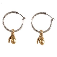 Beautiful Hultquist Jewellery Wild Strawberry Silver Hoop Earrings Only £26 at Lizzielane.com http://www.lizzielane.com/product/hultquist-jewellery-wild-strawberry-silver-hoop-earrings/