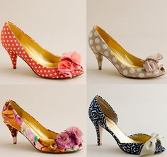 Rachel Simpson printed bridal shoes | What Wedding Shoe Style is Best for You?