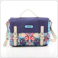 Oilily Tasche Kaleidoscope - S Shoulder Bag - Blue