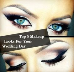 Neutrals can bring out a green eye! Finish the look with a set of half bar lashes for added drama