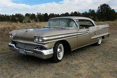 1958 Oldsmobile 98 Holiday 4 door hardtop