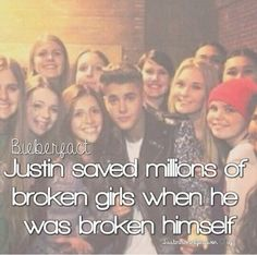 This is the only bieber fact that I can verify for sure
