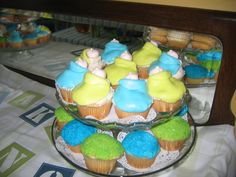 Made these for my grandson's baby shower...got the idea from a Wilton's book. by Debra Penney