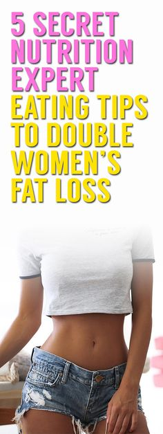 5 Nutrition Expert Eating Tips For Women's Weight Loss Fit Girl Motivation, Weight Loss Motivation, Fitness Motivation, Losing Weight Tips, Lose Weight, Flat Belly Workout, Plus Size Workout, Healthy Diet Tips, Lower Ab Workouts
