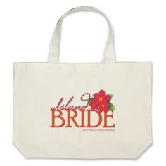 Island Bride St Thomas Tote Bags #ff # wedding