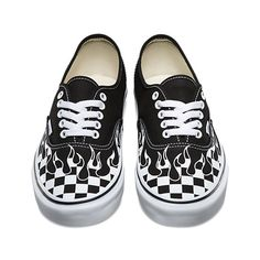 Checker Flame Authentic