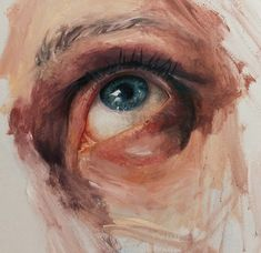 Discovered by Marissa Asal. Find images and videos about art and drawing on We Heart It - the app to get lost in what you love. A Level Art, Eye Art, Art Sketchbook, Portrait Art, Aesthetic Art, Painting & Drawing, Art Oil Paintings, Realistic Paintings, Art Inspo