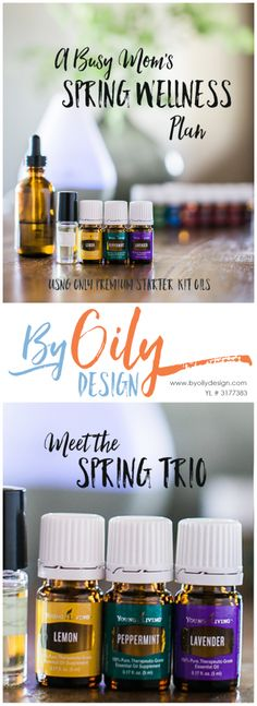 Essential Oil Spring time wellness Trio, LLP, Natural homeopathic tricks for spring wellness, Lemon, peppermint, lavender, essential oil trio