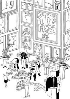 The Place to Be by Jean-Michel Tixier — Agent Pekka