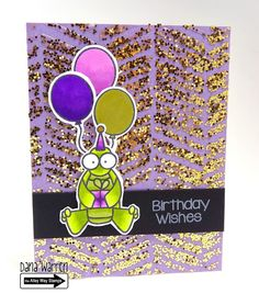 The Alley Way Stamps - Dana Warren - TAWS, Clear Stamps, Cards, It's My Party