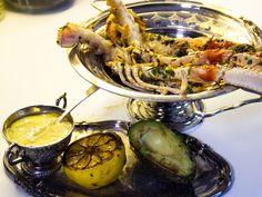 Vitlök- och citronmarinerade havskräftor | Recept från Köket.se