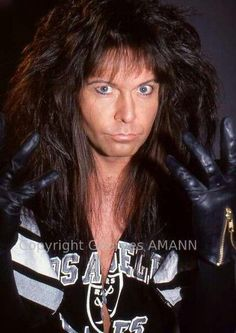 The most beautiful hair. Heavy Metal Rock, Heavy Metal Bands, The Heavy Band, Good Music Quotes, Love Machine, Wasp, Concert Posters, Hair Band, The Man