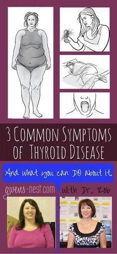 common symptoms of thyroid disease rob pin #thyroiddisease