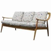 Vintage Scandinavian Style Sofa Couch Teak - Metro Reto Furniture - Mid Century Modern furniture