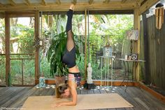 Learn how to get upside down in Pincha Mayurasana with these 10 prep postures! Pin now, learn how to get upside down now!