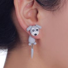 $14.99 FREE SHIPPING! Peek-A-Boo Puppy Earrings You can get this HOT NEW ITEM for a LIMITED TIME ONLY! Click the Add to Cart Button NOW! Please allow 3-4 weeks