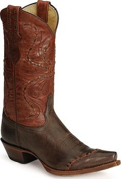 If you're going to play in TX, you better have a pair of cowboy boots in the closet?  Love these!