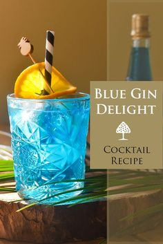 Summer time calls for refreshing summer blue cocktails. Just like this cocktail recipe. #cocktail #recipe #summercocktail #rcocktailrecipe #gin #bluecuracao