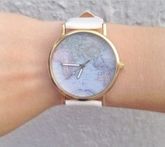 Map Watch- 5 color options from Knee Deep Denim on Storenvy