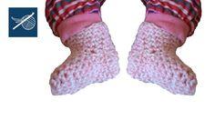Preemie Crochet Baby Booties Left Hand Crochet Geek