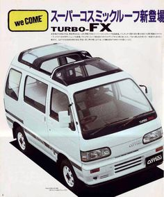 Toyota Hiace 6th Generation >> In May 1986 came the 6th generation Daihatsu Hijet and Atrai with the 3rd side window extended ...