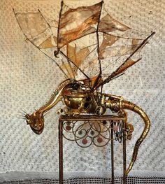 Maquette du Dragonaute, la machine volante des Vikings de l'air, impitoyables pirates