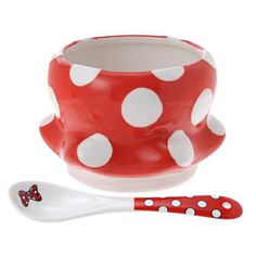 Minnie Mouse Bowl & Spoon