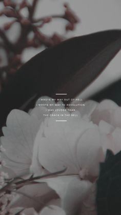 kaespo — lockscreens no. 308 - hurricane lyrics for the. Samsung Wallpapers, Full Hd Wallpapers, Flowers Quotes Tumblr, Flower Quotes, Lyric Quotes, Words Quotes, Life Quotes, Qoutes, Sayings