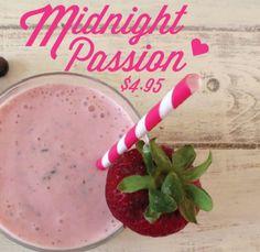 Get that midnight passion #proteinshake
