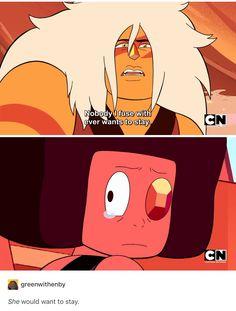 Steven Universe Eyeball And Jasper Theories
