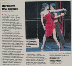 Her Name Was Carmen review, Lyndsey Winship, Evening Standard