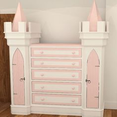 Looking for something a little smaller to fit into your little princesses room or more storage to compliment your other luxury princess furniture