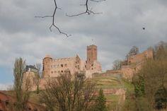 Castle ruins in Wertheim Germany
