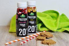 """Die neuen Protein Drinks von Arla® sind nicht nur lecker, sondern sondern tragen im Rahmen einer abwechslungsreichen und ausgewogenen Ernährung zum Erhalt und zur Zunahme an Muskelmasse bei. Ob """"Himbeere & Erdbeere"""" oder """"Tropical"""", hier ist für jeden die richtige Mischung dabei."""