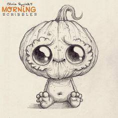 #morningscribbles #countdowntohalloween