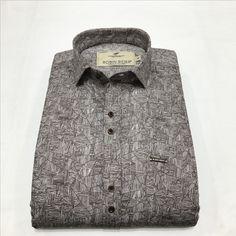 Stylish Shirts, Casual Shirts, Casual Wear, Men Casual, Printed Cotton, Button Down Shirt, Shirt Dress, Mens Tops, How To Wear
