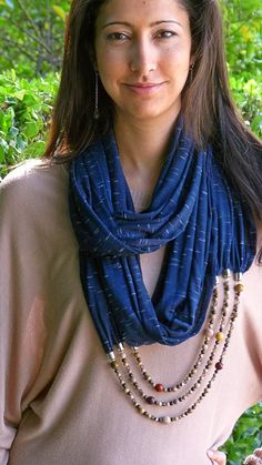 Be Here Now Scarf Necklace