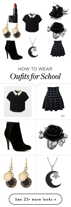 """Sexy Little School Girl"" by mommyandprincess on Polyvore featuring ALDO, Jewel Exclusive, Marc by Marc Jacobs and NARS Cosmetics"