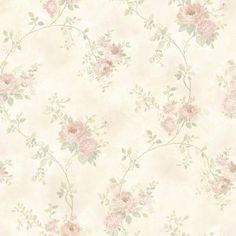 Brewster Home Fashions Meadowlark Chiswick Trail x Hydrangea Embossed Wallpaper Color: Blush Blush Wallpaper, Botanical Wallpaper, Embossed Wallpaper, Wallpaper Samples, Wallpaper Roll, Wallpaper Borders, Flower Wallpaper, Pattern Wallpaper, Vintage Floral Wallpapers