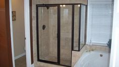 how to install replacement shower doors